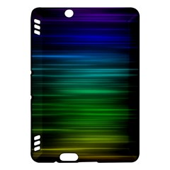 Blue And Green Lines Kindle Fire HDX Hardshell Case