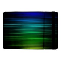 Blue And Green Lines Samsung Galaxy Tab Pro 10 1  Flip Case