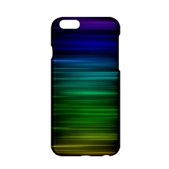Blue And Green Lines Apple Iphone 6/6s Hardshell Case