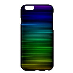Blue And Green Lines Apple Iphone 6 Plus/6s Plus Hardshell Case
