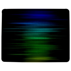 Blue And Green Lines Jigsaw Puzzle Photo Stand (Rectangular)