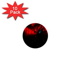 Spider Webs 1  Mini Buttons (10 pack)