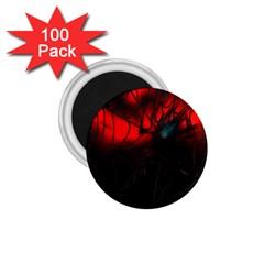 Spider Webs 1 75  Magnets (100 Pack)