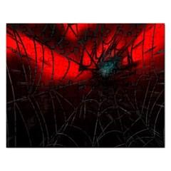 Spider Webs Rectangular Jigsaw Puzzl