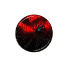 Spider Webs Hat Clip Ball Marker (10 pack)