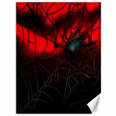 Spider Webs Canvas 36  x 48