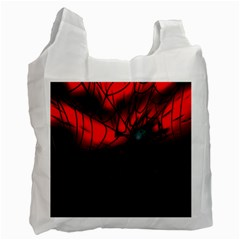 Spider Webs Recycle Bag (One Side)