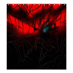 Spider Webs Shower Curtain 66  x 72  (Large)