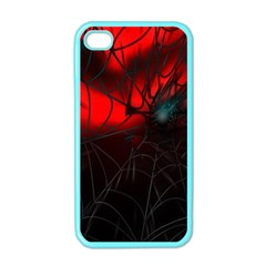 Spider Webs Apple Iphone 4 Case (color)