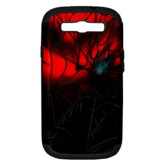 Spider Webs Samsung Galaxy S III Hardshell Case (PC+Silicone)