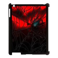 Spider Webs Apple iPad 3/4 Case (Black)