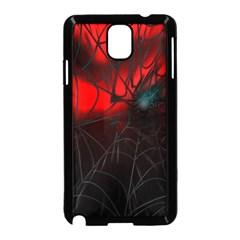 Spider Webs Samsung Galaxy Note 3 Neo Hardshell Case (black)