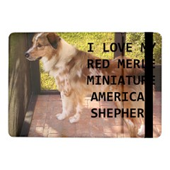 Mini Australian Shepherd Red Merle Love W Pic Samsung Galaxy Tab Pro 10.1  Flip Case