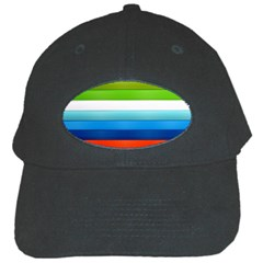 Colorful Plasticine Black Cap