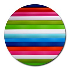 Colorful Plasticine Round Mousepads