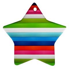 Colorful Plasticine Ornament (Star)