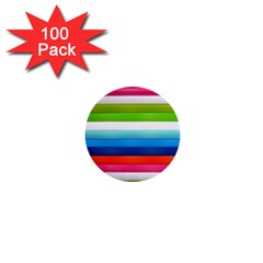 Colorful Plasticine 1  Mini Buttons (100 pack)