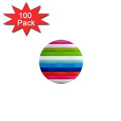 Colorful Plasticine 1  Mini Magnets (100 Pack)