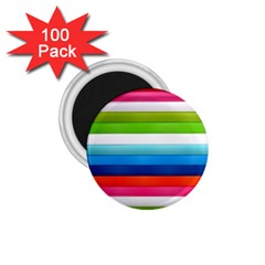 Colorful Plasticine 1 75  Magnets (100 Pack)
