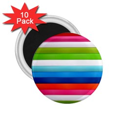 Colorful Plasticine 2.25  Magnets (10 pack)