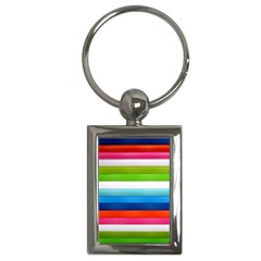 Colorful Plasticine Key Chains (Rectangle)
