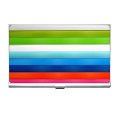 Colorful Plasticine Business Card Holders