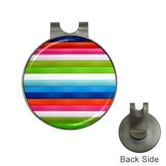 Colorful Plasticine Hat Clips with Golf Markers