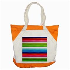 Colorful Plasticine Accent Tote Bag