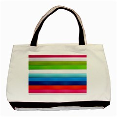 Colorful Plasticine Basic Tote Bag (two Sides)
