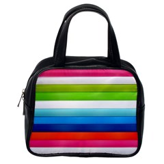 Colorful Plasticine Classic Handbags (one Side)