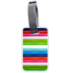 Colorful Plasticine Luggage Tags (one Side)