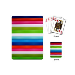 Colorful Plasticine Playing Cards (Mini)