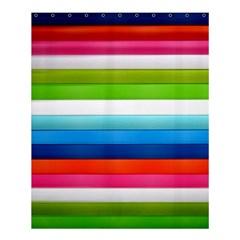 Colorful Plasticine Shower Curtain 60  X 72  (medium)