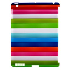 Colorful Plasticine Apple Ipad 3/4 Hardshell Case (compatible With Smart Cover)