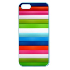 Colorful Plasticine Apple Seamless Iphone 5 Case (color)
