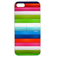 Colorful Plasticine Apple Iphone 5 Hardshell Case With Stand