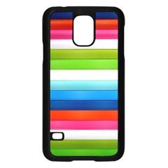 Colorful Plasticine Samsung Galaxy S5 Case (Black)