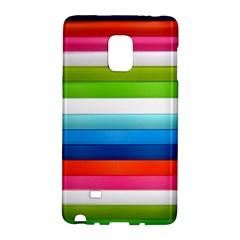 Colorful Plasticine Galaxy Note Edge