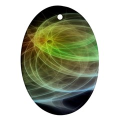 Yellow Smoke Ornament (Oval)