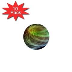 Yellow Smoke 1  Mini Buttons (10 Pack)