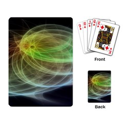 Yellow Smoke Playing Card