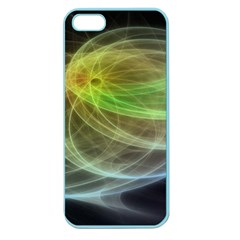 Yellow Smoke Apple Seamless Iphone 5 Case (color)