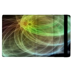 Yellow Smoke Apple Ipad 2 Flip Case