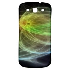 Yellow Smoke Samsung Galaxy S3 S III Classic Hardshell Back Case
