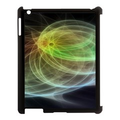 Yellow Smoke Apple Ipad 3/4 Case (black)