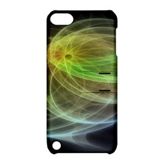 Yellow Smoke Apple iPod Touch 5 Hardshell Case with Stand