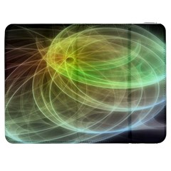 Yellow Smoke Samsung Galaxy Tab 7  P1000 Flip Case