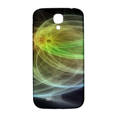 Yellow Smoke Samsung Galaxy S4 I9500/I9505  Hardshell Back Case