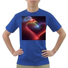 Neon Heart Dark T-Shirt