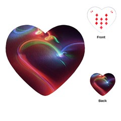 Neon Heart Playing Cards (Heart)